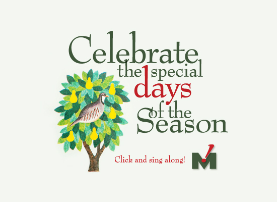 Celebrate the special days of the season