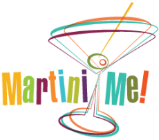 Martini Me! Retro Party Graphics